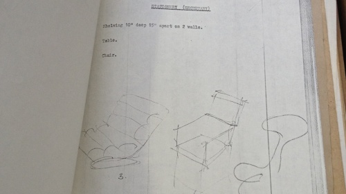 chair sketches